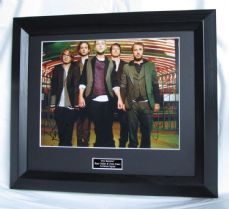 "A468OR RYAN TEDDER & DREW BROWN - ""ONE REPUBLIC"" DUAL SIGNED"